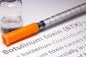 Botulinum Toxin syringe